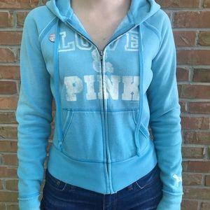 Vintage PINK Victoria's Secret zip jacket